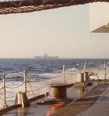 MED 74 Fantail view of America