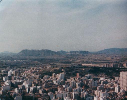 Alicante from Castle