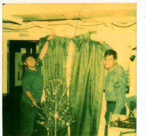 Christmas Valencia 1973 Calhoun and Harley (Davis)