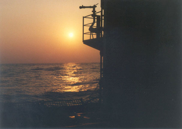 Sunset-at-sea